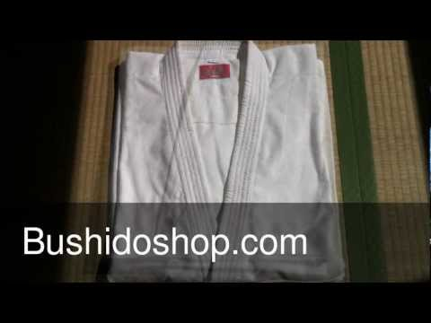 Xebec aikido Gi uniform yomogi online budo shop from japan