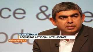 Market Pulse: Sikka Eyes Artificial Intelligence - BLOOMBERGUTV