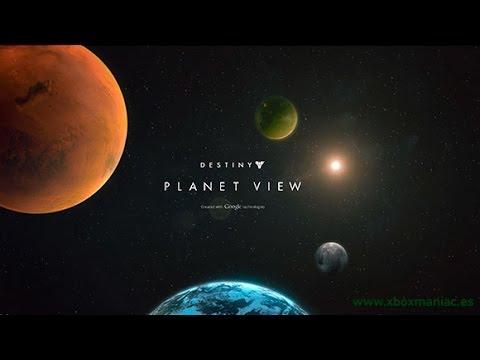 Destiny Google View - BUNGIE PLANET VIEW