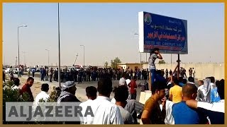 🇮🇶 Southern Iraq unrest: Protest outside oil field near Basra | Al Jazeera English - ALJAZEERAENGLISH