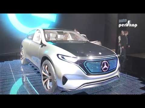 Autoperiskop.cz  – Výjimečný pohled na auta - Mercedes Generation EG, Mercedes AMG GT R – Autosalon Paříž 2016