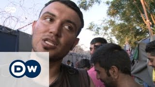 Stranded at the Hungarian border | Focus on Europe - DEUTSCHEWELLEENGLISH