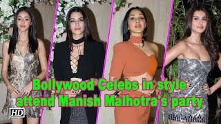 Bollywood Celebs in style attend Manish Malhotra's party - IANSINDIA
