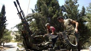 استمرار المعارك بين الجيش الحر وقوات النظام بريف درعا الشمالي