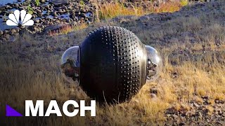Like A Rolling Stone: A Surveillance Robot That Can Travel On Any Terrain | Mach | NBC News - NBCNEWS