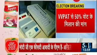 21 opposition parties ask Supreme Court to increase EVM paper trail count - ZEENEWS