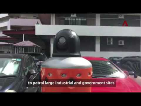 Robots can help existing security manpower to up-skill