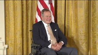 تدهور الحالة الصحية للرئيس الأمريكي الأسبق جورج بوش الأب