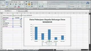 Diagram batang dengan excel youtube ccuart Choice Image