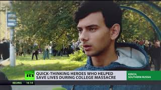 Crimea in Mourning: Quick-thinking heroes who helped save lives during college massacre - RUSSIATODAY