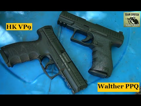 HK VP9 vs Walther PPQ 9mm pistol