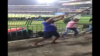 Sri Lanka man's Naagin dance after India win Nidahas trophy - ABPNEWSTV