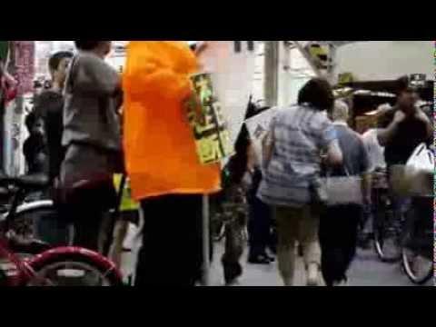 大山駅前で有田芳生大先生の大演説会【平成25年6月6日】