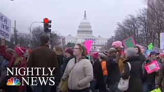 National Organizers Trying To Quell Women's March Controversy | NBC Nightly News - NBCNEWS