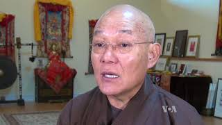 Through Sand Art, Former Tibetan Monk Spreads Message of Peace - VOAVIDEO