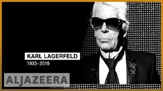 🇩🇪 German fashion icon Karl Lagerfeld dies in Paris at age 85 | Al Jazeera English - ALJAZEERAENGLISH