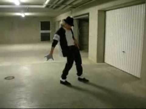 Dance like michael jackson on billie jean