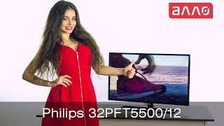 Видео-обзор телевизора Philips 32PFH5500