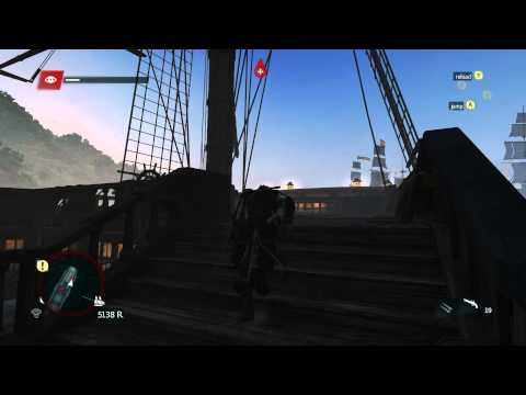 How to Kill a Man o' War without firing a single cannon & buggy shenanigans - AC IV: Black Flag
