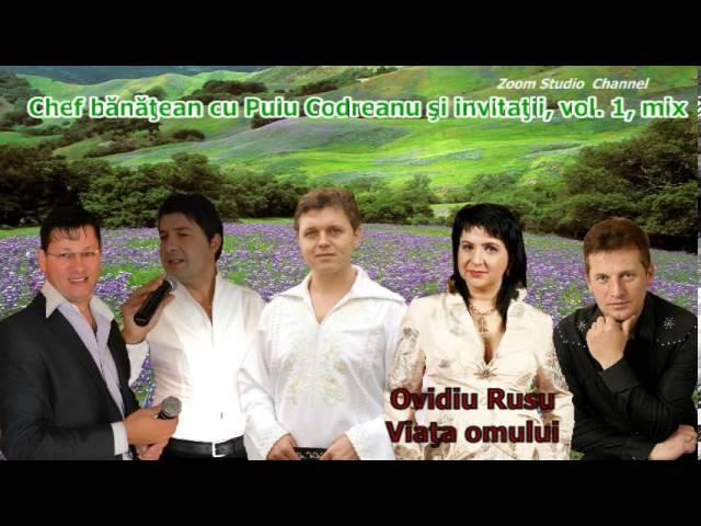CHEF BANATEAN CU PUIU CODREANU SI INVITATII, VOL  1, MIX 2013, ZOOM STUDIO