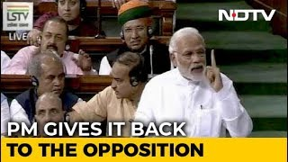 PM Modi's Point-By-Point Rebuttal To Rahul Gandhi's Speech In Parliament - NDTV