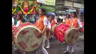 Navi Mumbai: Lady drummers steal the show during Jagannath Rathyatra - TIMESOFINDIACHANNEL