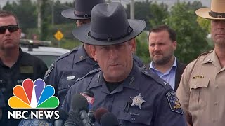 Maryland Police Detail A Shooting That Left Multiple Dead And Injured | NBC News - NBCNEWS