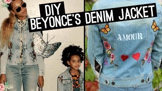 DIY Beyonce Denim | Get The Look! (StyleWire) - HOLLYWIRETV