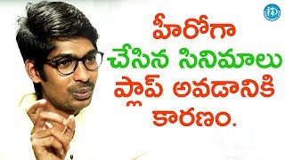 The Films In Which I Acted As Hero Are All Flops - Dhanraj || Anchor Komali Tho Kaburlu - IDREAMMOVIES