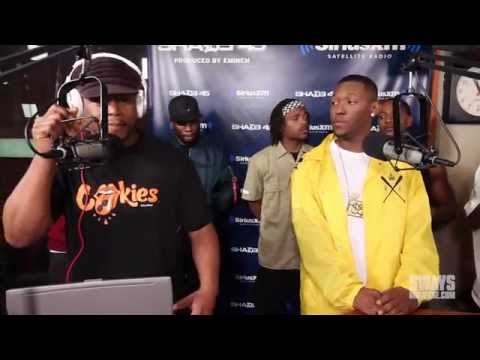 Hit-Boy - Hit-Boy & HS87 Crew Freestyle On Sway In The Morning  Feat. HS87