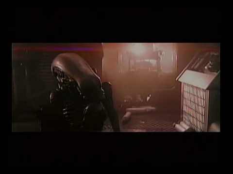 Alien deleted scene: Alien attacks Lambert - good quality
