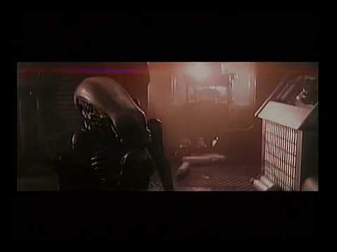 Alien deleted scene: Alien attacks Lambert - good quality