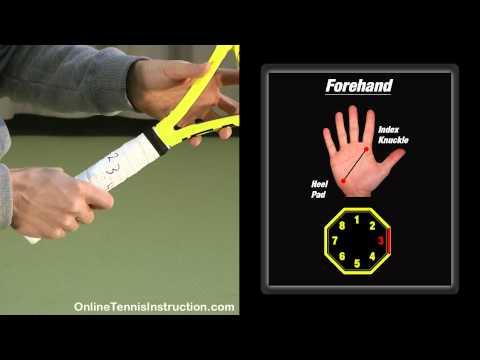 Cách cầm vợt tennis tốt nhất