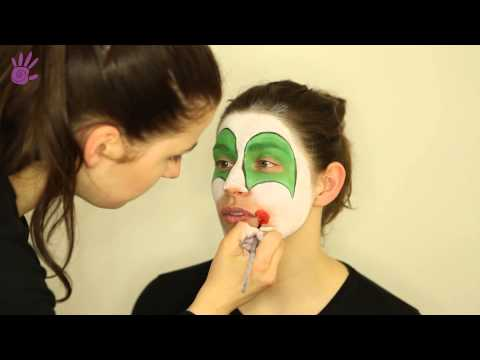 Malowanie buziek, Malowanie twarzy, Face Painting # 5 - Klaun/Clown