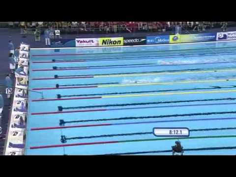 Sun Yang Amazing 1500M WR Swim at Shanghai Aquatics 2011 (Complete)