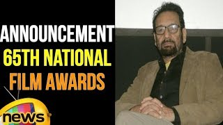 Announcement of 65th National Film Awards In Shastri Bhawan At New Delhi | Mango News - MANGONEWS