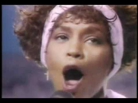 Whitney Houston Star Spangled Banner Video