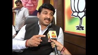 Manoj Tiwari reacts on problems faced by Delhi residents due to current govt - ABPNEWSTV