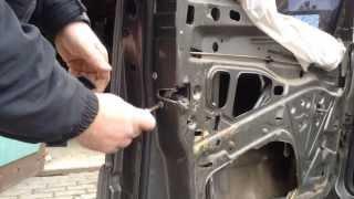 Как снять переднюю дверь Mercedes Benz W124 | How To Remove The Front Door