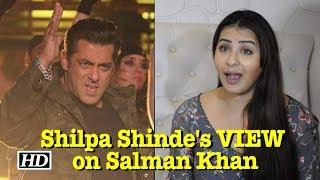 Shilpa Shinde's VIEWS on Salman Khan in Bigg Boss - IANSLIVE