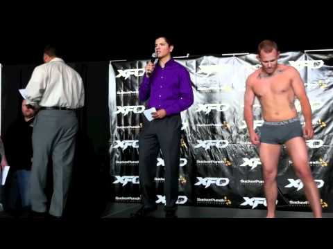 THE NOW INFAMOUS XFO 39 WEIGH-INS IN FULL!
