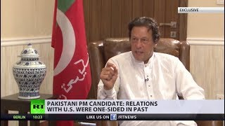 'US looks at Pakistan as ally & enemy at the same time' – Imran Khan - RUSSIATODAY