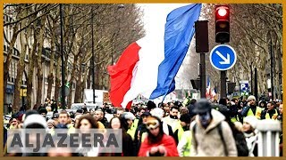 🇫🇷 France: 'Yellow vests' protest despite Macron's grand debate | Al Jazeera English - ALJAZEERAENGLISH