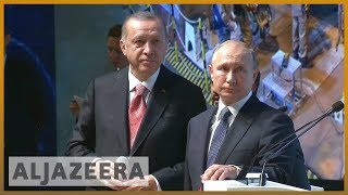 🇹🇷🇷🇺Russia, Turkey complete major phase of TurkStream gas pipeline | Al Jazeera English - ALJAZEERAENGLISH
