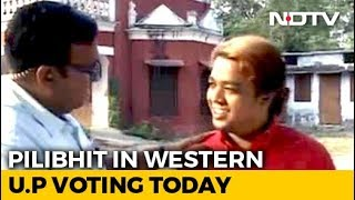 Western UP's Pilibhit, Stronghold Of BJP's Gandhis, Votes Today - NDTV