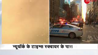 Explosion at Port Authority bus terminal near Times Square: Suspect in custody - ZEENEWS