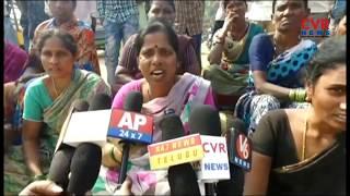 Naskal Village Peoples Protest over Slow Pace of Road Works | Vikarabad Dist | CVR NEWS - CVRNEWSOFFICIAL