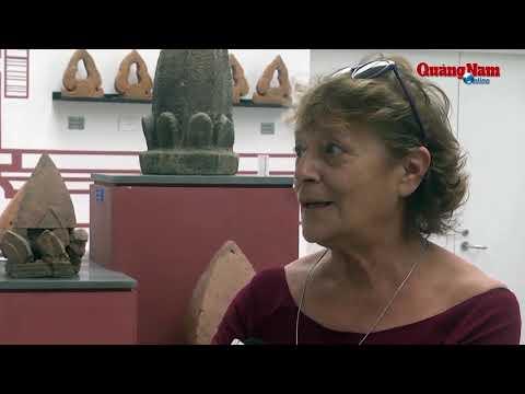 Video Patrizia Zolese người bạn lớn của Mỹ Sơn Báo Quảng Nam Online