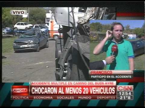 C5N - TRANSITO: ACCIDENTE FATAN EN EL CAMINO DEL BUEN AYRE