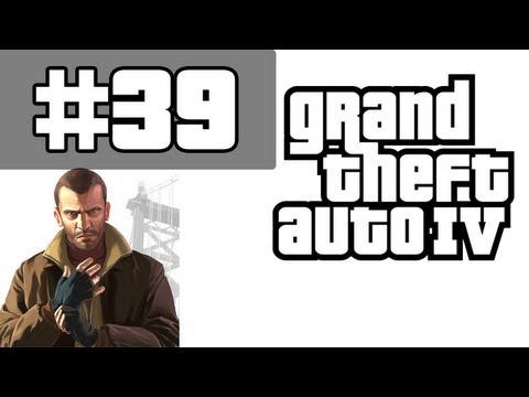 Grand Theft Auto 4 Walkthrough / Gameplay with Commentary Part 39 - Payday The Heist